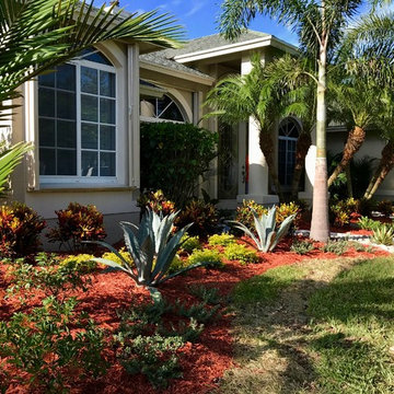Vero Beach Front yard Curb appeal