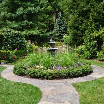 Vibrant Garden Backyard