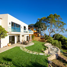 Mediterranean Landscape by Hill Construction Company