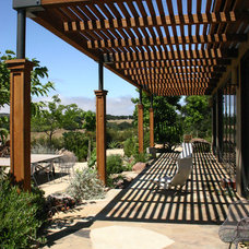 Contemporary Patio by Carson Douglas Landscape Architecture