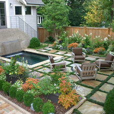Contemporary Landscape by Bennett Design & Landscape
