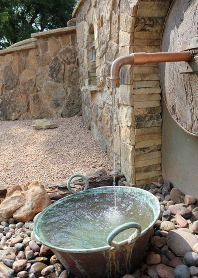 Фьюжн Сад by One Specialty Landscape Design, Pools & Hardscape
