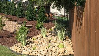Wake Forest Dry Creek Installation