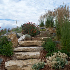 Traditional Landscape by AspenFalls custom design and landscape