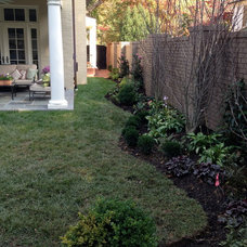 Traditional Landscape by Petals and Paths Garden & Landscape Design