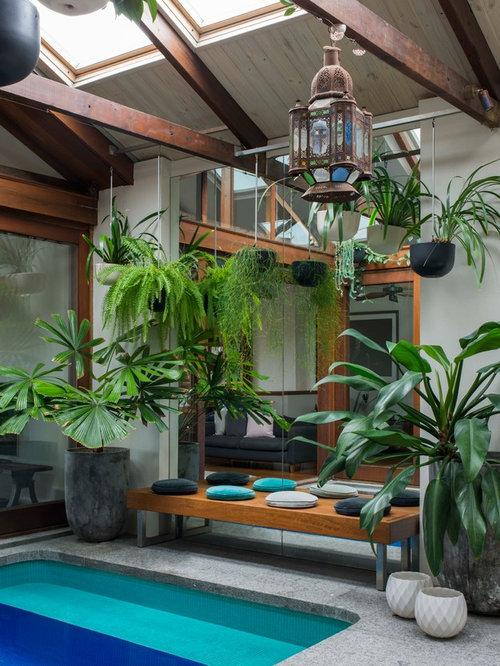 industrial garten mit betonplatten ideen f r die gartengestaltung. Black Bedroom Furniture Sets. Home Design Ideas