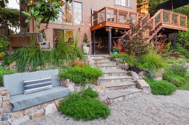 Сад by Rock Paper Scissors Landscape Design Build
