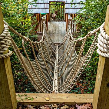 Washington DC Landscape and Backyard Play Project