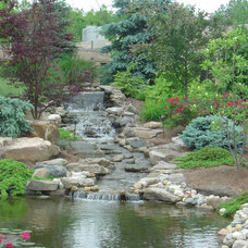 Traditional Landscape by Michael K Akin, Falling Water Creations