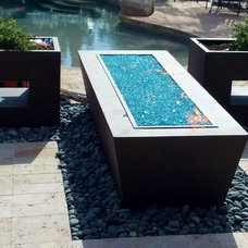 Contemporary Landscape by Goodman Fabrications / Bluflame - Fire / Water