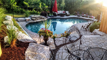 Water Features, Landscape and Deck in Kitchener, ON