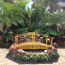 Tropical Landscape by Landscaping by Steve Blaum