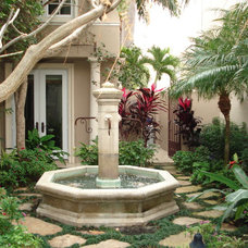 Mediterranean Landscape by MJM Design Group, Inc.