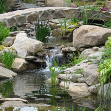 Landscape by Waterfalls Fountains & Gardens