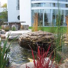 Modern Landscape by Daryl Toby - AguaFina Gardens International
