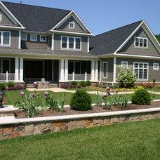 Farmhouse Landscape by Budding Branch Landscape & Design