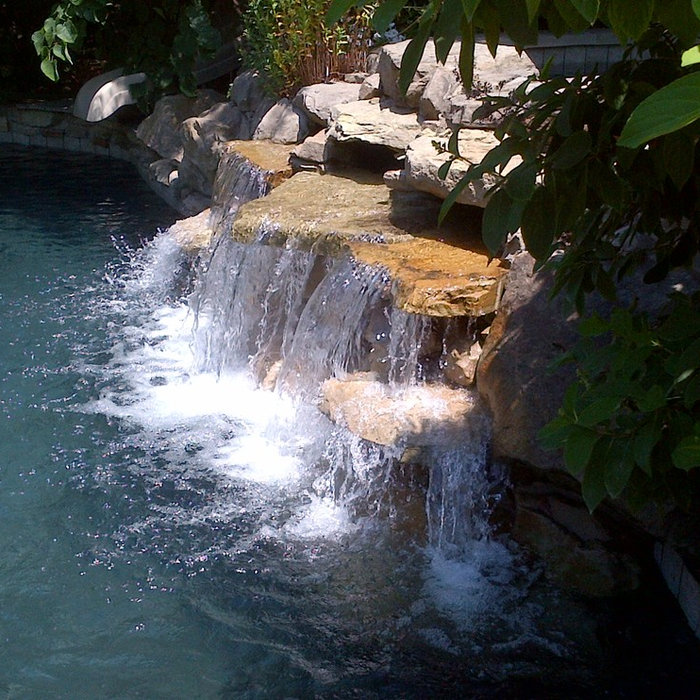 Water Features and Waterfalls
