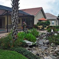 Tropical Landscape by Schatz Landscape Design
