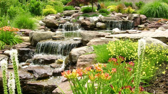 Waterfalls and Koi Ponds at Annapolis Residence