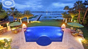 Waterfront Infinity Pool- St. Augustine, FL