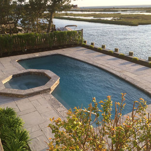 Photo of a coastal landscaping in New York.