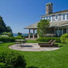 Beach Style Landscape by The Schumacher Companies