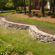 Traditional Landscape by Stone Center of Carolina