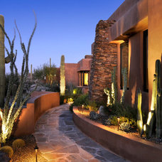 Southwestern Landscape by Process Design Build, L.L.C.