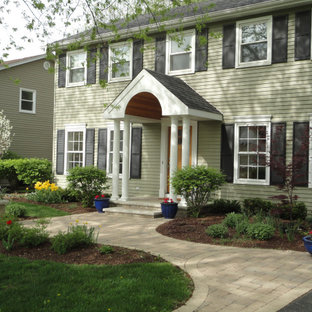 75 Beautiful Front Yard Walkway Pictures & Ideas - August ...