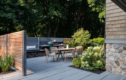 Before and After: 3 Side Yards Add Outdoor Kitchens and Seating