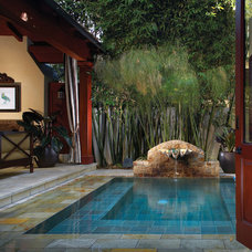 Tropical Landscape by Wendi Young Design