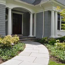 Traditional Entry by Jacalyn Gould Landscape Architect