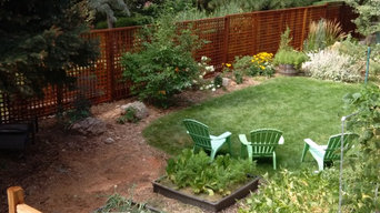 Western Red Cedar Heavy Lattice Fence