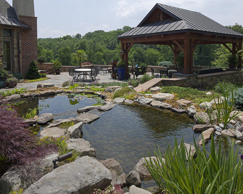 farm pond | houzz