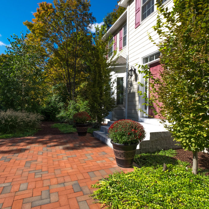 Westford Residence - Front yard renovation.