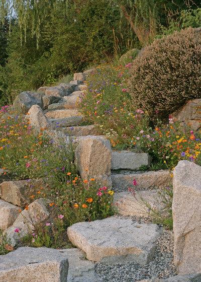 Dünenlandschaft Im Garten Anlegen 11 ideen für gartengestaltung mit steinen und findlingen