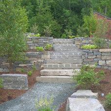 Traditional Landscape by Terrain Planning & Design LLC