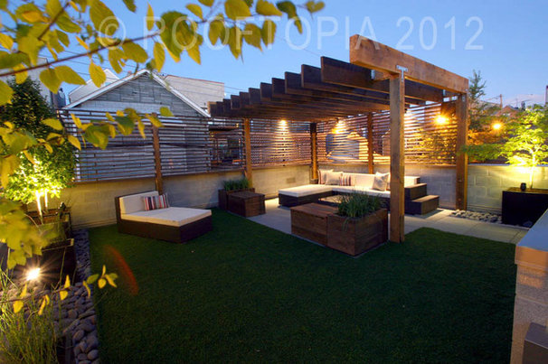 Modern Patio by Rooftopia, LLC