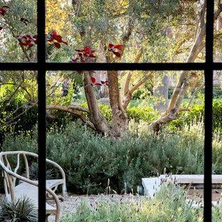 Foto di un giardino tradizionale dietro casa