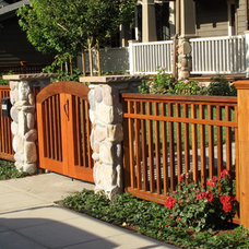Craftsman Landscape by New Canaan Landscaping Inc.