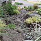 Dry Creek Bed Mediterranean Landscape San Diego By
