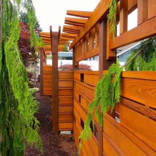 シアトルのコンテンポラリースタイルのおしゃれな庭の写真