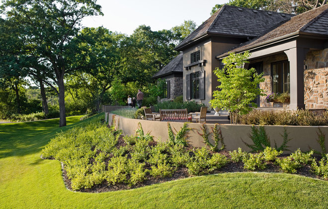 Rustic Landscape by Windsor Companies