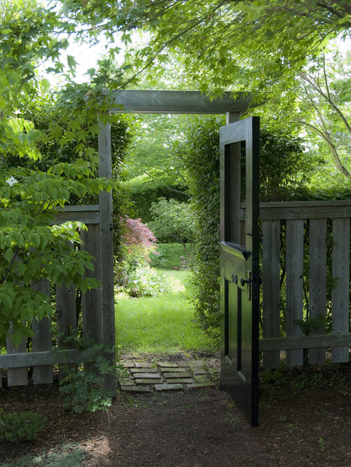 Garden Design With Garden Gate Home Design Ideas, Pictures, Remodel And  Decor With Fire
