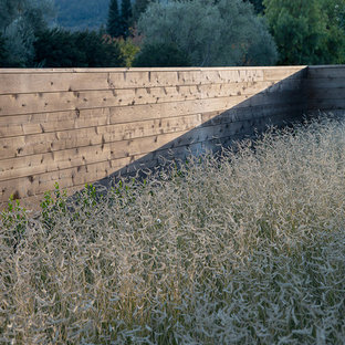 Design ideas for a large transitional landscaping in San Francisco.