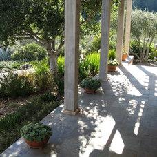 Mediterranean Landscape by Kate Michels Landscape Design