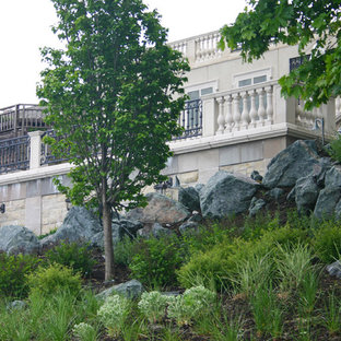This is an example of a traditional landscaping in Chicago.