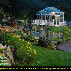 """Traditional Landscape by Deck and Patio Company """"Outdoor Living Experts"""""""