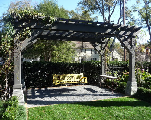 Pergola With Porch Swing Photos - Pergola With Porch Swing Ideas, Pictures, Remodel And Decor