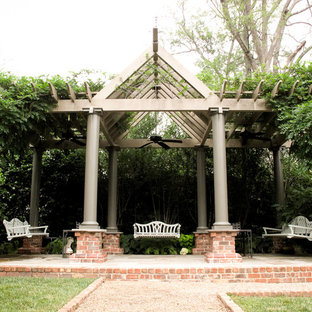 Wood Arbor and Bench Swings